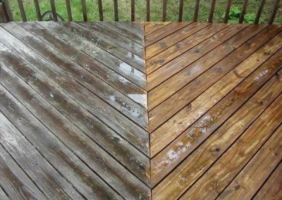 ACS outdoor power washing and paint spraying jobs